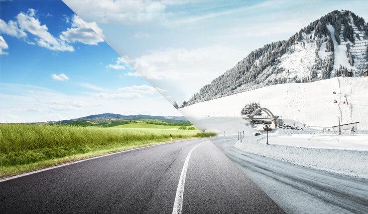 ESA+TECAR Sommer- und Winterreifen
