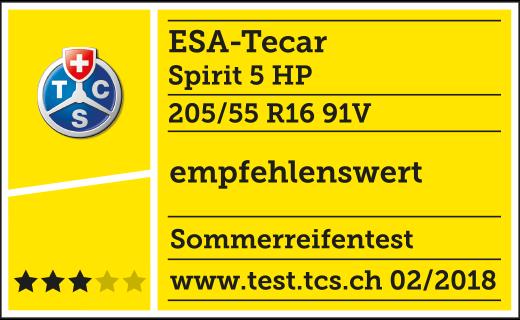 TCS TEST 03/2018 ESA+TECAR SPIRTIT 5 HP