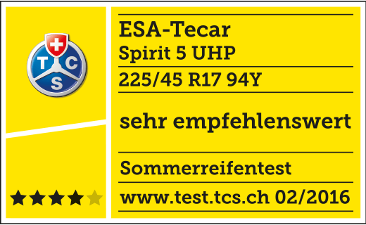 TCS TEST 02/2016 ESA+TECAR SPIRTIT 5 UHP