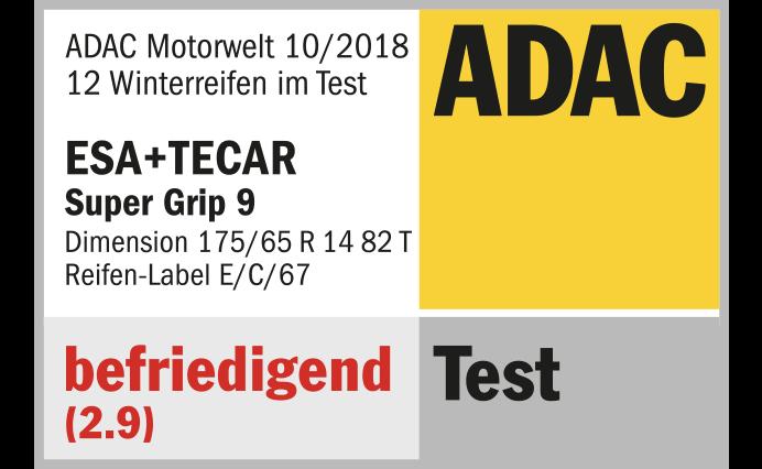 ADAC TEST: GUT (2,3)